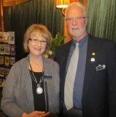 Bob and Sue McArthur.13.6.13